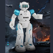 Electric Touch Gesture Sensing Remote Control Robot Singing Dancing Programming 203E