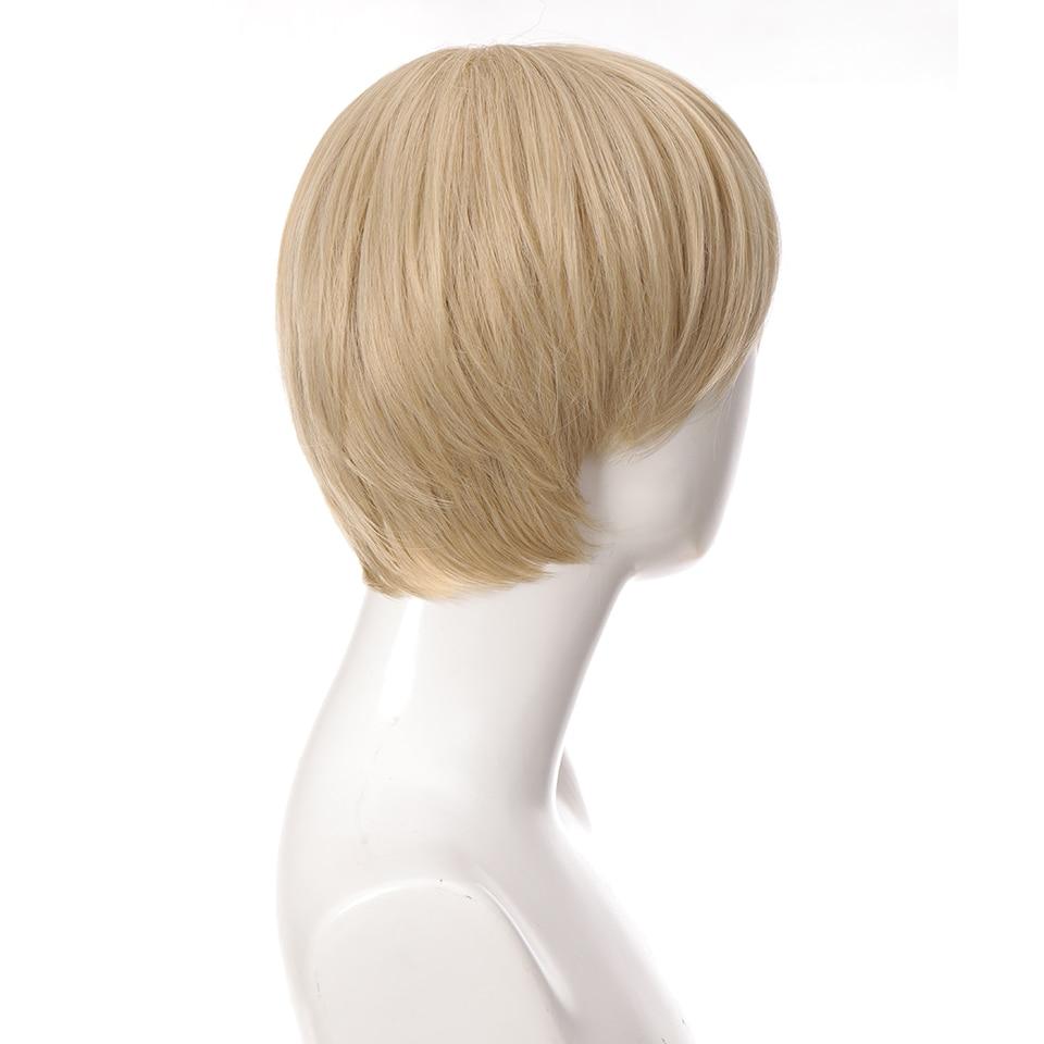 Ailiade sintético cosplay perucas com franja em