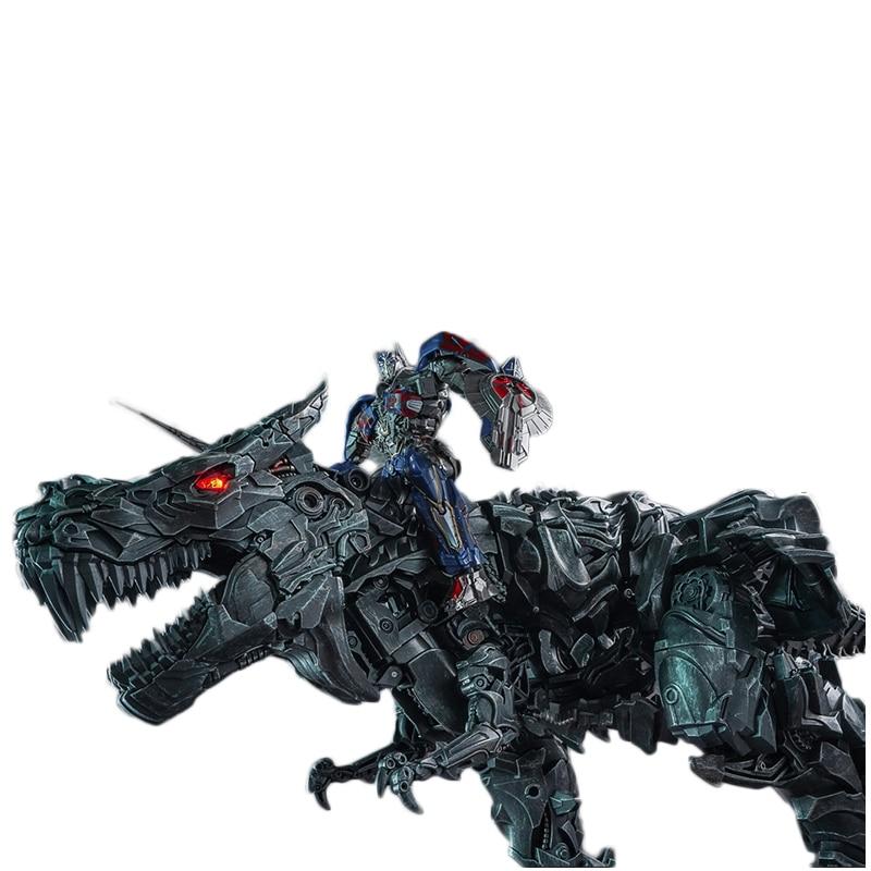 WEIJIANG W8600 Transformation Spielzeug Grimlock Action figur Film Modell PVC 34CM Legierung LS05 LS 05 SS Verformung Roboter Geben Weg OP - 5