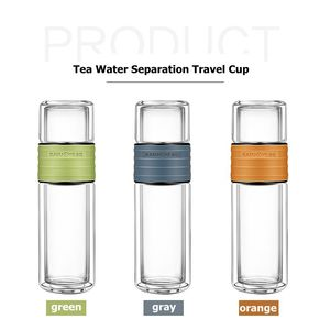 Image 5 - Kamjoveフィルター水カップ茶水分離旅行カップポータブル学生フィルターガラスティーカップ