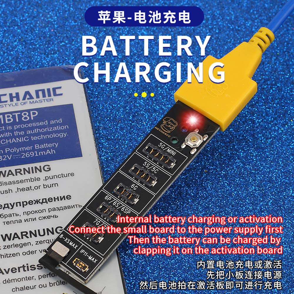 MECHANIC Battery Activation Charging Panel For iphone 5-11 Pro/Max And Android Mobile Phone DC Power Supply Activation Board 2