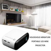 Yg200 Led Projektor 600 Lumen 3,5Mm Audio 320X240 Pixel Yg 200 Hdmi Usb Mini Projektor Home Media Player
