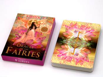 The Oracle of the Fairies: A 44-Card Deck and Guidebook Cards By Karen Kay Connection with the Fairies Magic and Energy the complete book of the flower fairies