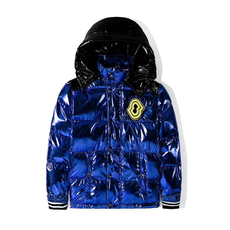 Hommes femmes chaud épaississement manteau nouvelle veste à capuche d'hiver simple boutonnage coupe vent coton vestes Outwear élégant mâle sport manteaux - 4