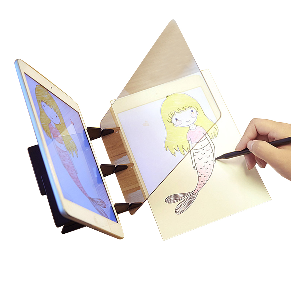 Painting Toys For Children Kid Drawing Board Panel Tracing Board Craft Toy Optical Drawing Projector Paint Tools Sketch Art Tool