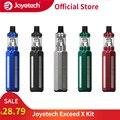 Оригинальный Joyetech Exceed X Kit аккумулятор 1000 мА · ч с пульверизатором 1 8 мл больше X  подходит для катушек EX/EX-M катушка 0.4ohm электронная сигарета ...