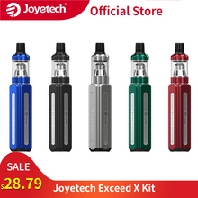 Original Joyetech Exceed X Kit 1000mAh battery with 1.8ml Exceed X Atomizer fit EX coils / EX M 0.4ohm Coil E cigs vape kit