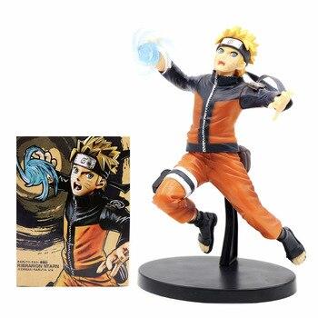 Anime Naruto Shippuden Figurine Uzumaki Naruto Figure Rasengan Combat ver. action figure model toys doll gifts for kids