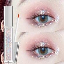 Eye-Shadow Makeup Pigment Cosmetics Glitter Shimmer Diamond Nude Metal Beauty Glow 10-Color