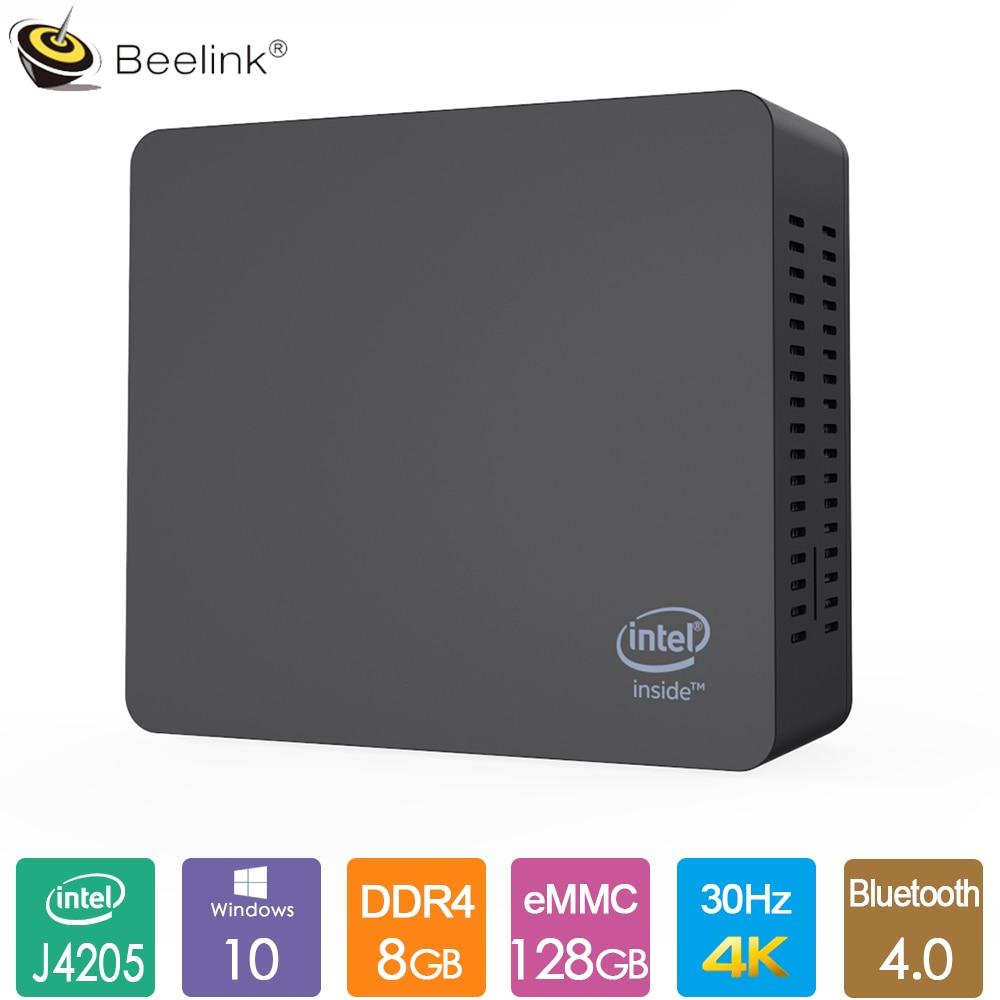 Beelink AP45 Office Mini PC Intel Pentium J4205 2.6GHz 8GB LPDDR4 128G EMMC Windows10 2.4G 5G Dual WiFi LAN 1000M 4K HTPC NUC