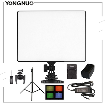 YONGNUO YN300 Air LED Camera Video Light Photography Adjustable Color Temperature 3200K-5500K For Canon Nikon Sony DSLR Camera yongnuo yn300 iii led camera video light with 5500k color temperatur e and adjustable brightness for canon nikon pentax olympas