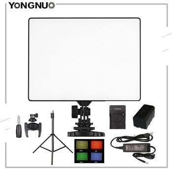 цена на YONGNUO YN300 Air LED Camera Video Light Photography Adjustable Color Temperature 3200K-5500K For Canon Nikon Sony DSLR Camera