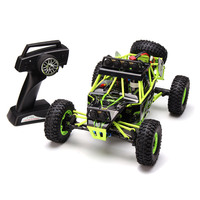 Wltoys 12428 Rc Car 4WD 2.4Ghz 1:12 Radio Remote Control Car Off road Car Model Toy High Speed 50km/h Vehicle With LED Light