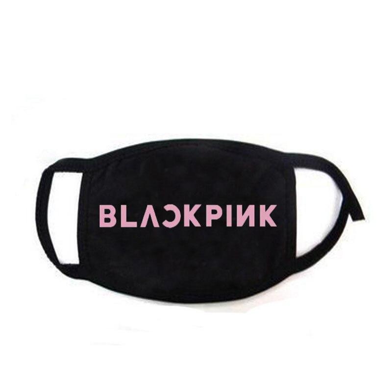 KPOP BlackPink Printing Dustproof Mask New Album KILL THIS LOVE Outdoor Mask JENNIE LISA ROSE JISOO FH519