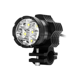 Motocykl reflektory led lampa pomocnicza przód motocykla reflektor silnik Drl przedni reflektor przeciwmgielny u nas państwo lampy akcesoria łazienkowe Dc 12 85V 60W na