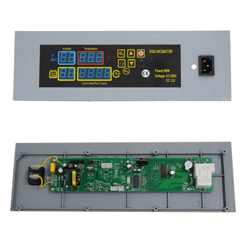 Thermostat Regulator DIY Mini Incubator Accessories Egg Goose Bird Quail Hatching Brooder Parts Auto Incubation Tools Set