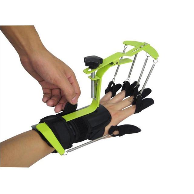 Equipo de fisioterapia y rehabilitación para manos, Órtesis dinámica para muñeca y dedo para la reparación de tendón de hemiplejia para pacientes