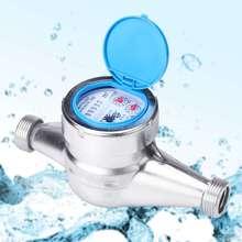 Измеритель воды из нержавеющей стали влажный измеритель холодной воды пластиковый ротор Тип измерительный измеритель Tap Настольный счетчик для дома Garde инструменты 15 мм