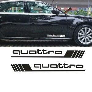 Image 1 - Auto Waren Francais Wasserdicht Aufkleber Geeignet für Quattro Styling Side Tür Abziehbilder Auto Aufkleber SUV 4x4