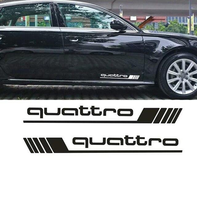 Auto Waren Francais Wasserdicht Aufkleber Geeignet für Quattro Styling Side Tür Abziehbilder Auto Aufkleber SUV 4x4