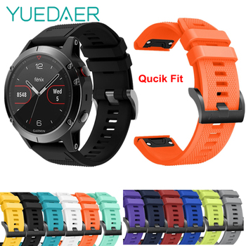 12 colors garmin fenix 5s band replacement quick release 20mm width silicone strap for garmin fenix 5s smart watch sport band 26 22 20MM Band Silicon Strap For Garmin Fenix 6 6S 6X Pro Watchband For Garmin 5 5S 5X Plus 3 3 HR Quick Release Watch Band