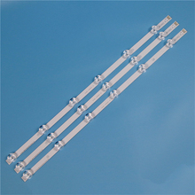 Tira da luz de fundo da tevê para lg 32lf551v 32lf552v 32lf560v led strip kit barras para lg 32lf561v 32lf562v 32lf563v lâmpadas banda led matriz