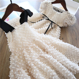 Kids Girl Ball Gown Dress NEW White Toddler Girl Summer Lace Dress 8 9 10Year Princess Birthday Party Dress Children Clothing(China)