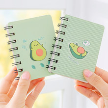 Leuke Kawaii A7 Schattige Notebook Mini Draagbare Coil Notepad Dagboek Boek Oefenboek Escolar Papelaria School Office Supply(China)