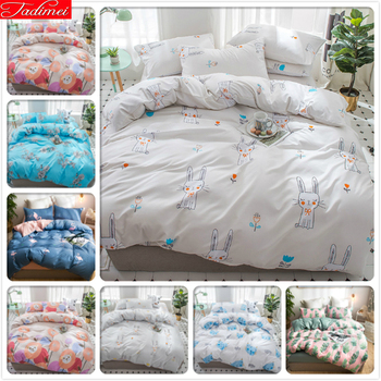 Cute Animal Cat Pattern Duvet Cover 3/4 pcs Bedding Set Single Twin Full Queen Super King Size Bed Linen 150x200 180x220 200x230