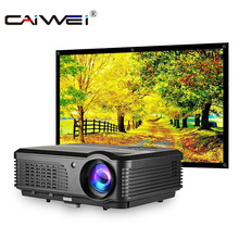 CAIWEI A6/A6AB 1080p Projector Full HD Home Projector Theate