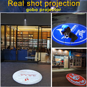 Image 2 - Outdoor Waterproof LED Customized Image Sign Rotate Remote Projection Lamp Custom Advertising Logo Projector Light
