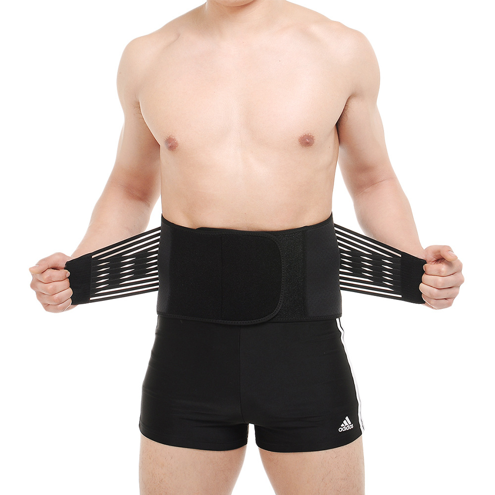 Skdk Profession Sports Waist Supporter Back Waist Protection Support Bar Fitness Squat Weightlifting Hard Pull Belt