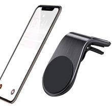 Car Phone Holder, Magnetic Vent Mount : Universal Air Cradle Compatible with Xs Max XR X 8 7 6S Plus