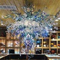 Hause Beleuchtung lüster de cristal Dekoration Luxus Hand Geblasen Glas Kronleuchter Licht Leuchte Wohnzimmer Indoor Lampe