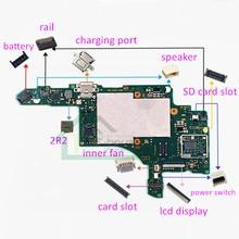 10pcs עבור Nintendo מתג האם PCB לוח תיקון טעינת יציאת SD כרטיס חריץ שקע רכבת flex מחבר עבור NS קונסולה