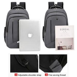 Image 2 - אופנה תרמיל 2020 גברים תרמיל מחשב נייד תיק פנאי נסיעות בית ספר נער כתף תיק Bagpack Backbag מוצ ילאס זכר