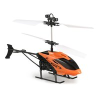 D715 1 Flying Mini Infrared Induction RC Helicopter Aircraft USB Charge LED Flashing Light Drone Remote Control Toys Kids Gifts|RC Helicopters| |  -