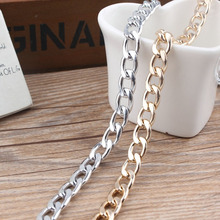 2meters diy accessories bracelet necklace bag chain 9*13*2mm thick chain special color retention by electroplating