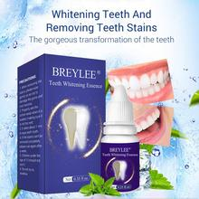 Oral Care Teeth Whitening Essence Quick Effect Tea Yellow Stains Removal Dental Plaque Cleaning Liquid With Cotton Swabs TSLM1