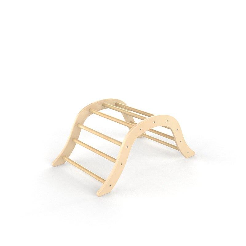 XIHAToy-échelle d'escalade triangulaire avec cadre en bois pour enfants, jouet, équipement de jeu d'intérieur, gymnastique pour enfants - 6