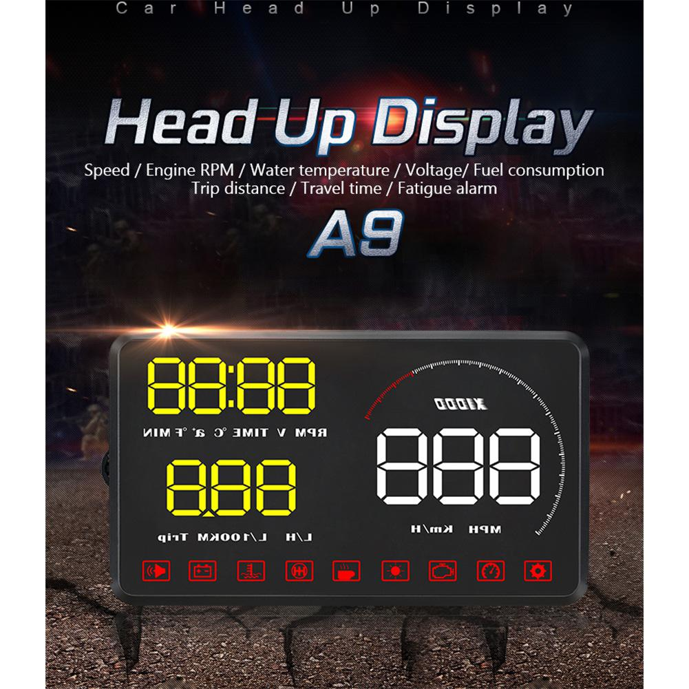 Dragonpad Car HUD Head Up Display 5 5 39 39 OBD2 LED Colourful Screen Car Diagnostic Tool Alarm System Car Diagnostic Tool in Head up Display from Automobiles amp Motorcycles