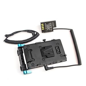 Image 2 - WY VG1 Power Supply System V Mount Battery Plate Adapter with DMW DCC12 Cable for Broadcast SLR HD camera