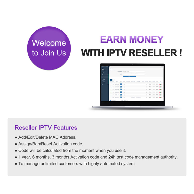IPTV M3u Subscription Portugal Spain Italy France IP TV SUBTV IPTV France Arabic Italy German Spain Canada Netherlands IPTV Code in Set top Boxes from Consumer Electronics