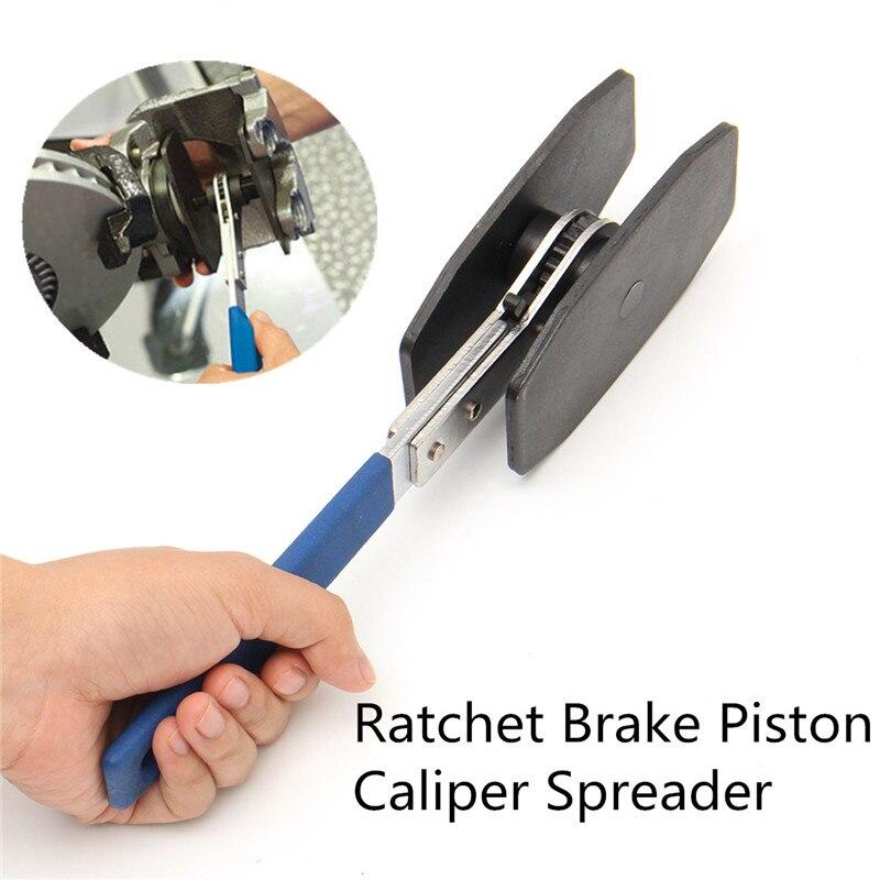 Car Brake Piston Separator Ratchet Tool Stainless Steel Press Twin Quad Separator Pad Disc Repair Ki