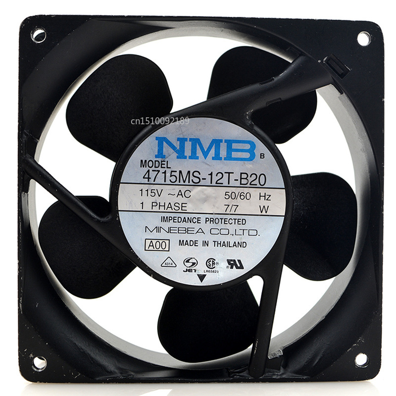 For Original 4715MS-12T-B20 Computer Blower Cooling Fan AC 115V 0.1A 7/7W 12038 120*120*38mm 1950RPM Free Shipping