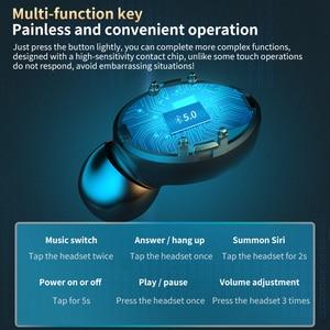 Image 3 - TWS Wireless Bluetooth 5.0 Earphone 9D HiFi Stereo Sport Waterproof Wireless Headphones Touch Mini Earbuds Headset with 2000mAh