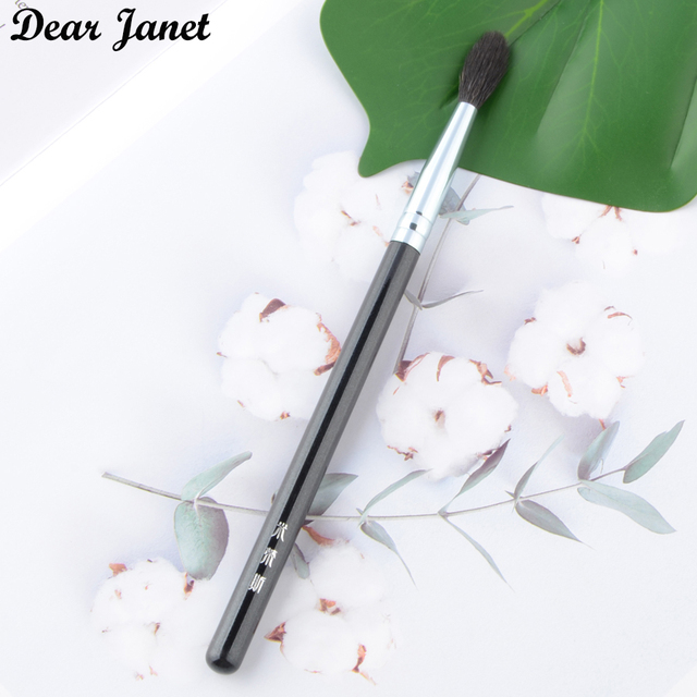 1 pc Highlighter Makeup brushes Eye blending Make up brush eyeshadow crease Cosmetic tool squirrel hair wood handle high quality 2
