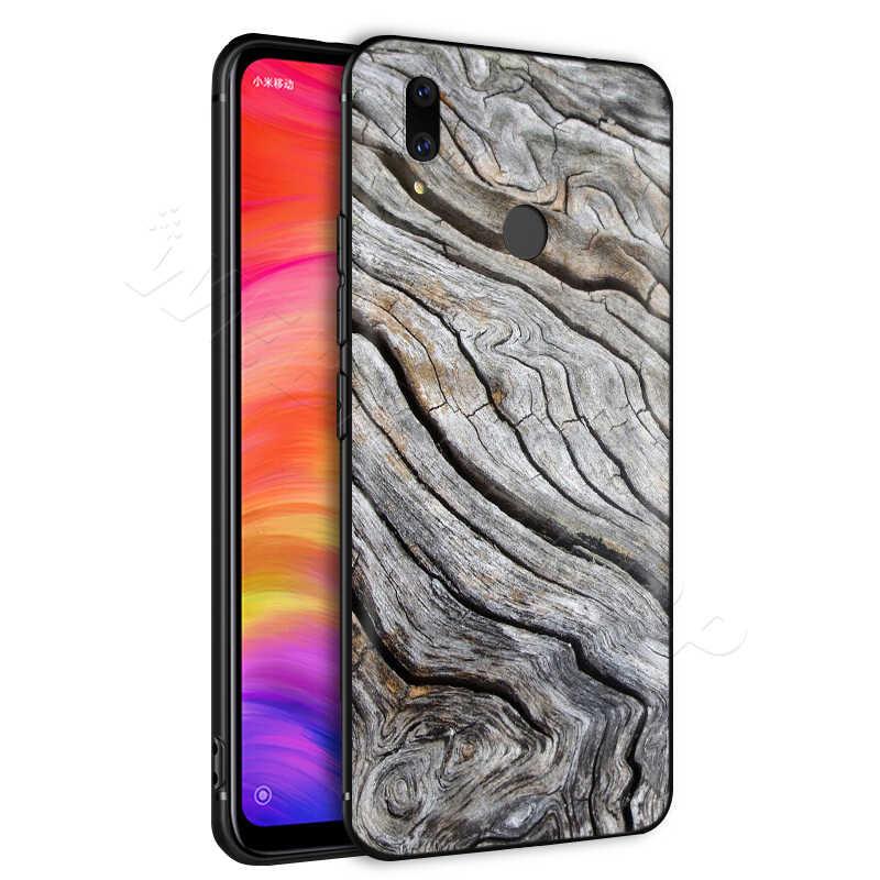 Patrón de madera texturas para Xiaomi Redmi 4A 4X4 5X5 5A 6 6A 7 7A S2 nota a K20 Pro Plus primer 8T