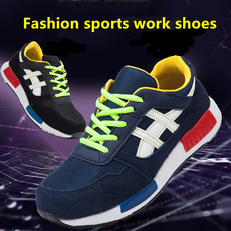 Sports Shoes Breathable Steel Head Anti-smashing, Anti-falling, Anti-piercing, Safe Labor Protection Shoes