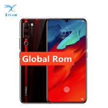 "Global Rom Lenovo Z6 Pro 6GB 128GB Android 9 Snapdragon 855 Octa Core 6.39"" 1080P Fingerprint Smartphone Rear 48MP Quad Cameras"
